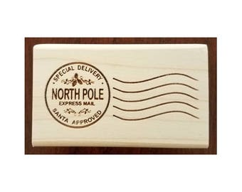 North Pole Santa Stamp - SC40