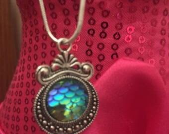 Mermaid Necklace / Mermaid Jewelry / Mermaid Scale Necklace / Birthday Gift / Bridesmaid Gift