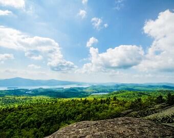 Great Landscape, Scenic Photo, Landscape Print, Adirondack Landscape Photography, Adirondack Mountains, Fine Art Print, Adirondack Scenery