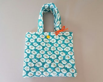 Nice bag / shopping child in cotton for your sweetheart