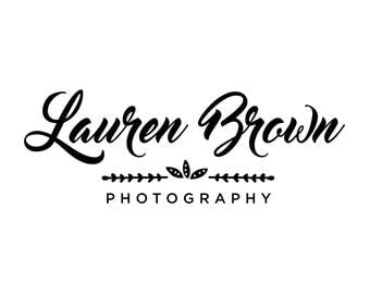 Pre made logo design - Photography logo design, Small Business Branding, Minimalist logo, Photographer logo, Boutique Logo, Watermark Logo