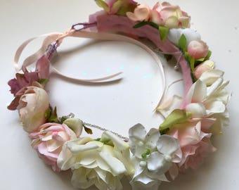 Bridal Rose Halo