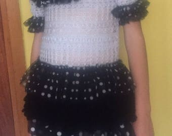 Dress for girl of 5-6 years any occasion