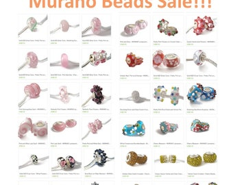 "30% off ~ 925, Murano, Gemstone beads and charms!!!  ""Happybead30"" coupon code"