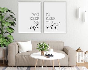 home decor gifts. Wall Art Prints Quotes  Minimalist Download Home Printable Bedroom decor gift Etsy