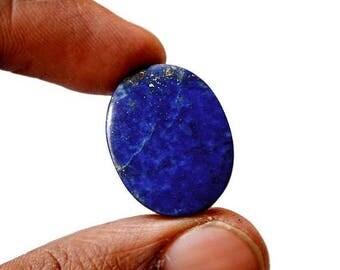 80% Sale Lapis Lazuli 23 Cts Natural Gemstone Cabochon  Superb Oval Shape Loose Cabochon 23x17x5 MM AC2477