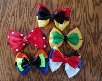 Mouse and Friends Bow