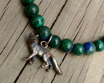 Fox Spirit Animal Energy Bracelet
