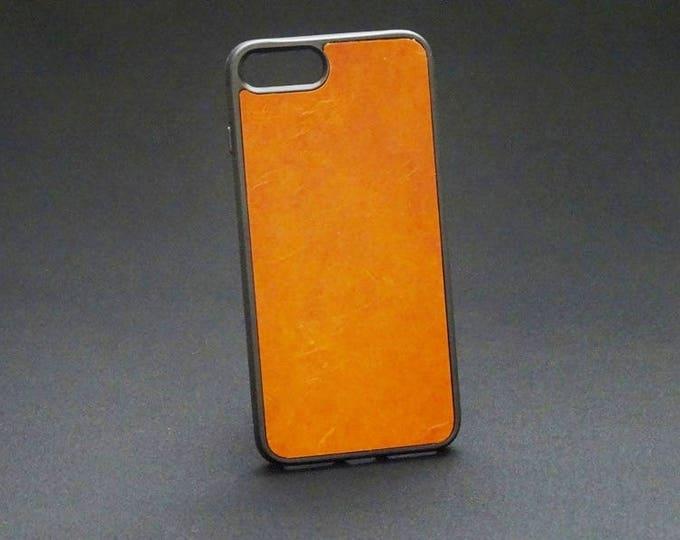 Apple iPhone 7+ Plus 8+ Plus - Jimmy Case in Whiskey Tan - Kangaroo leather - Handmade - James Watson