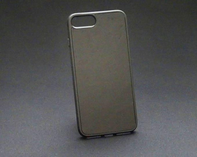 Apple iPhone 7+ Plus 8+ Plus - Jimmy Case in Smooth Black - Kangaroo leather - Handmade - James Watson
