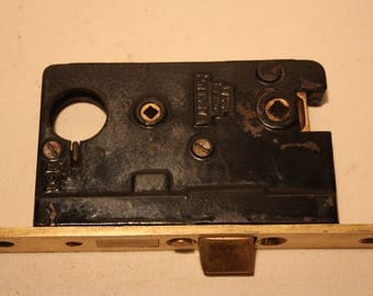 Broken Leaf Keyed Mortise Lock