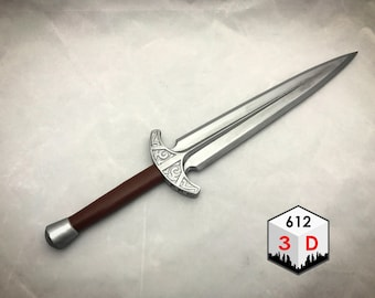 Steel Dagger Skyrim Inspired Replica / Cosplay / Prop