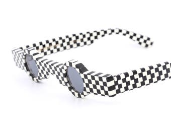 Vintage sunglasses Alain Mikli Paris  A.M. 89 0155 118 handmade in France made 1989