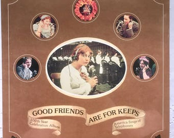 Vintage Telephone Record -Good Friends Are For Keeps-1975-AT&T Co.-Sealed LP-*Mint* Dinah Shore