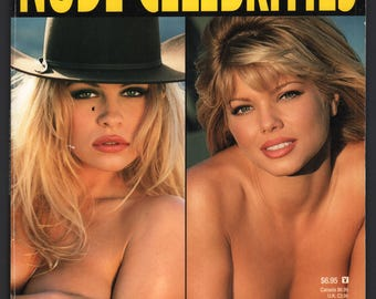 Mature Vintage Playboy Special Edition Mens Girlie Pinup Magazine : Playboy's Nude Celebrities March 1997 Pam Anderson Anna Nicole Smith