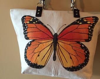 Monarch Butterfly Purse