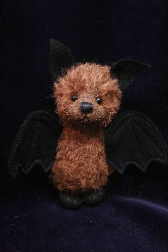Rayk the bat OOAK artist Bear