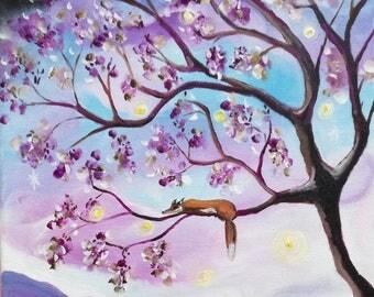 Magic Celeste-art-dreamy magical painting.