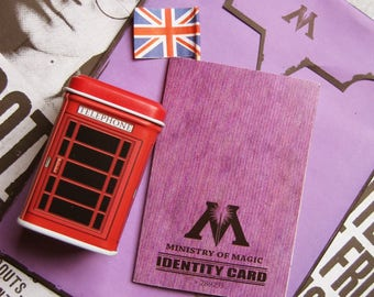 The identity card of the employee of the Ministry of magic