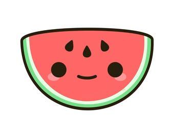 Cute watermelon print-digital download