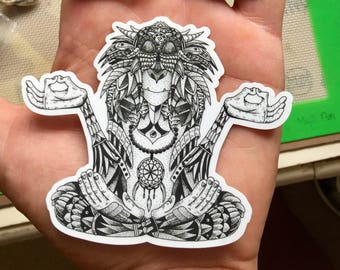 Shaman of Sherwood Sticker - EF 2017