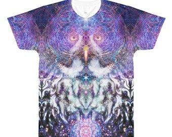Cosmic Owl Ravewear Shirt