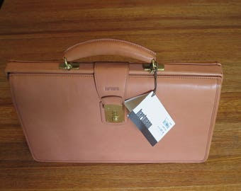 Hartmann Compact Lawyer's Briefcase Attache- New with tags- Out of Production- One of a Kind
