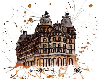 The Grand Hotel, Scarborough Print