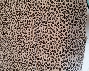 black grey patterned fabric on white background