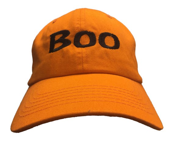 Boo (Polo Style Ball Cap available in various colors)