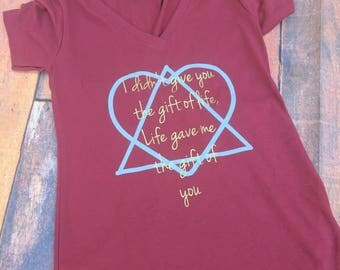 Adoption shirt, adoption rocks shirt, adoptive mom shirt, gotcha day shirt, adopting shirt, adoption mom shirt, adoption announcement