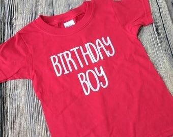 Birthday boy shirt, boys birthday shirt, first birthday shirt, second birthday shirt, third birthday shirt, first birthday boy outfit