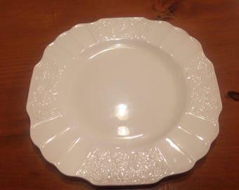 Ivory embossed plates