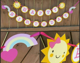 You Are My Sunshine themed Banner