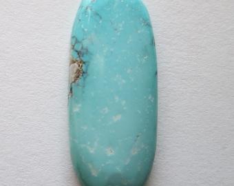 16.80 ct. 100% Natural Chinese Qingu 680 (Hubei) Turquoise Gemstone, # DV 057