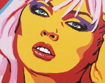 DEBBIE HARRY (Blondie) art print