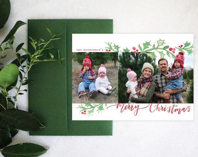 PRINTABLE Holiday Cards | Merry Christmas