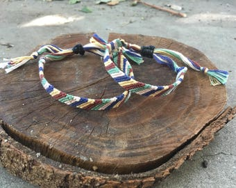Adjustable Friendship Bracelet Set