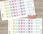 RETIRING SALE! 75% OFF | 144 Shopping Reminders Cute Planner Stickers