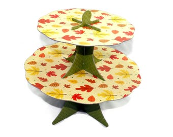 Thanksgiving Decorative 10 Cupcake Stand