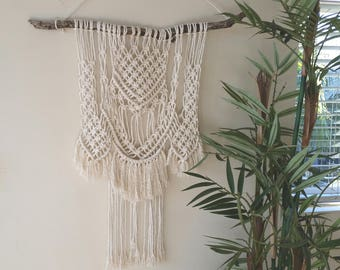 "Macrame Wall Hanging - ""Riverside"""