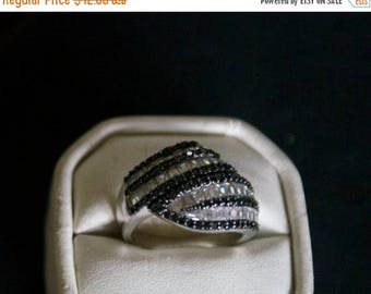 ON SALE Fabulous CZ Silver Ring
