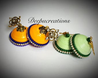 Quilling earrings 2pairs