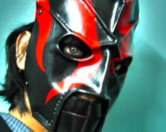 Leather Kane Mask Replica 2000-2002 Version 3 Halloween