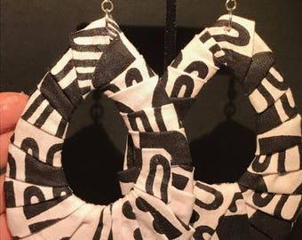 Kente Earrings (Large)