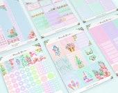 Summer EC Vertical Planner Sticker Kit