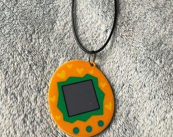 Retro Tamagotchi Gaming Necklace
