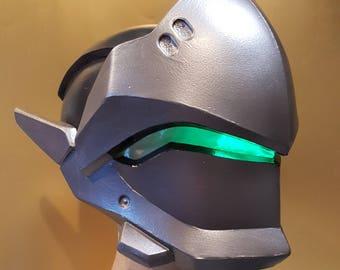 Genji Overwatch Foam helmet templates