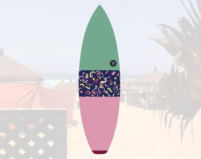 NEW IN   Oh Mangod   Surfboard Sock   Horizon Sunrise