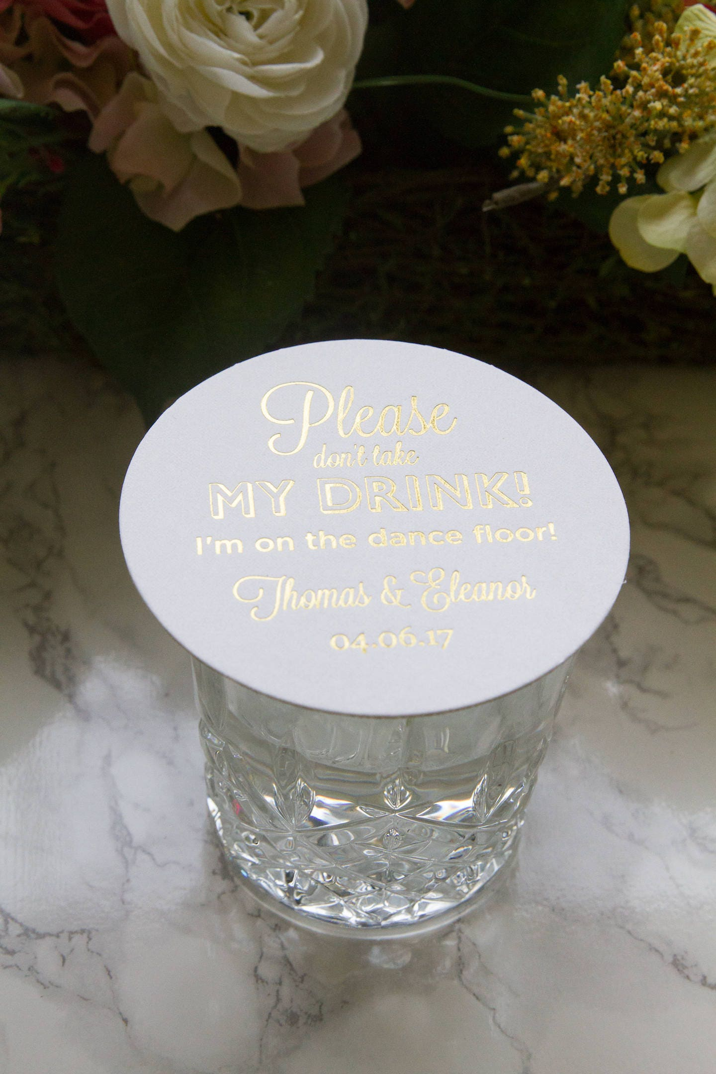 Personalized Please Don\'t Take My Drink, I\'m On The Dance Floor ...